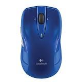 LOGITECH Wireless Mouse M545 [910-004328] - Blue - Mouse Desktop